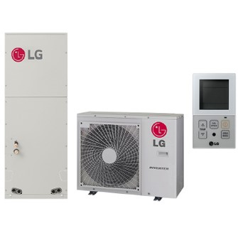 LG RED 3-ZONE OUTDOOR UNIT (ONLY) MINI SPLIT, Inverter Heat