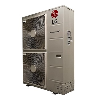 LG RED 6-ZONE OUTDOOR UNIT (ONLY) MINI SPLIT,